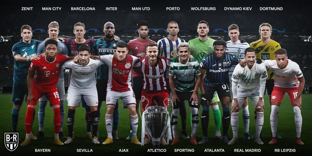 Các đội bóng đã chắc chắn ghi tên vào vòng bảng Champions League mùa sau. (Ảnh: Bleacher Report).