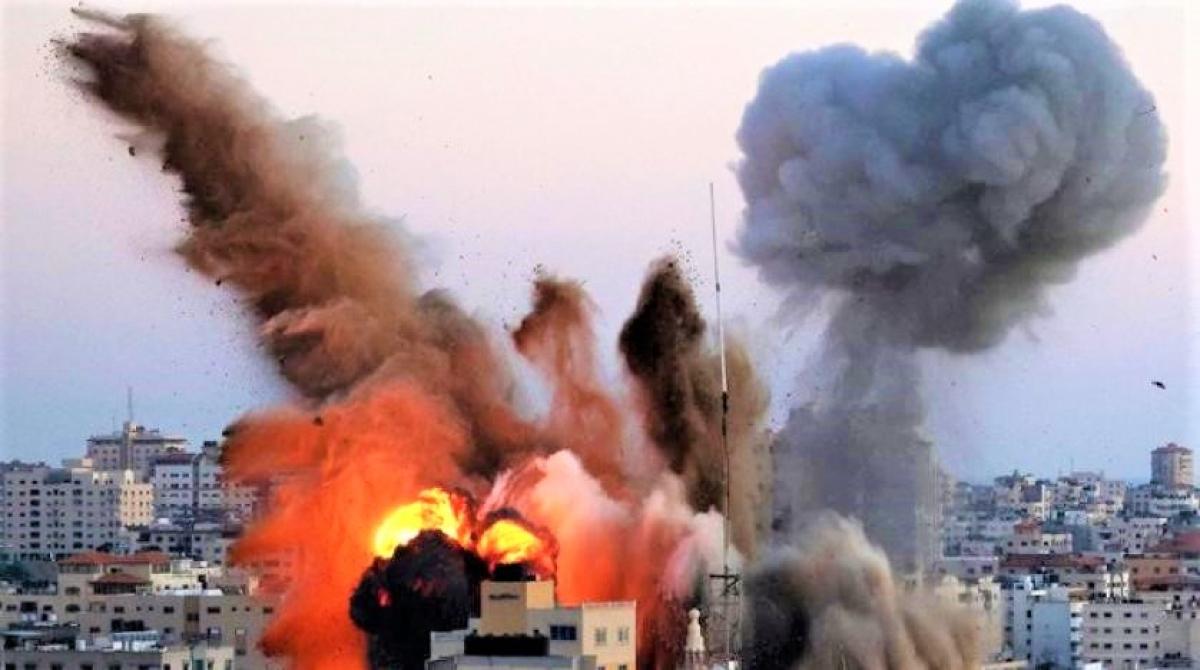Cuộc chiến Israel-Palestine đang là chủ đề nóng của truyền thông và các tổ chức hòa bình thế giới; Nguồn: aawsat.com