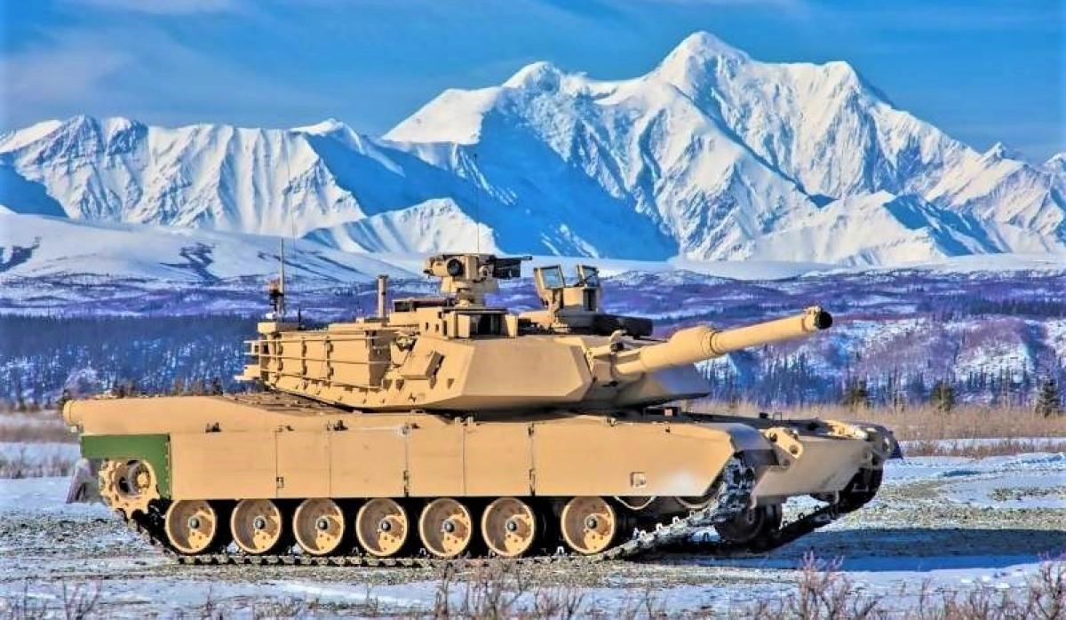 Mỹ đã cho thử nghiệm vận hành tăng Abrams M1A2C trong điều kiện khắc nghiệt của Alaska; Nguồn: topwar.ru