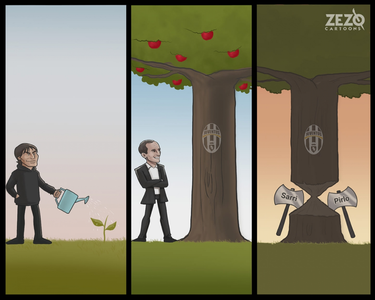 Tóm tắt về sự phát triển của Juventus trong 10 năm qua.