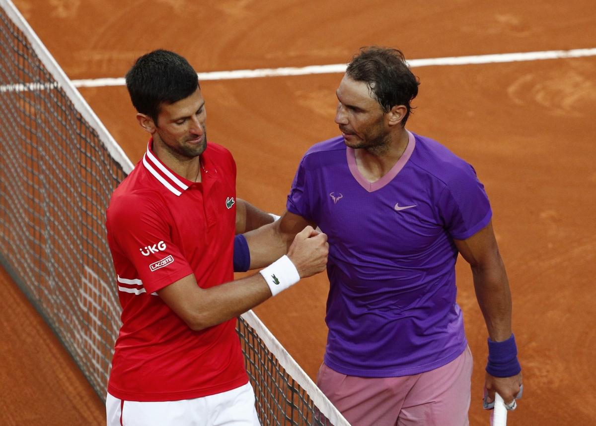"""""""Ông vua sân đất nện"""" cũng san bằng kỷ lục 36 lần đăng quang ở các giải Masters 1000 của chính Djokovic."""