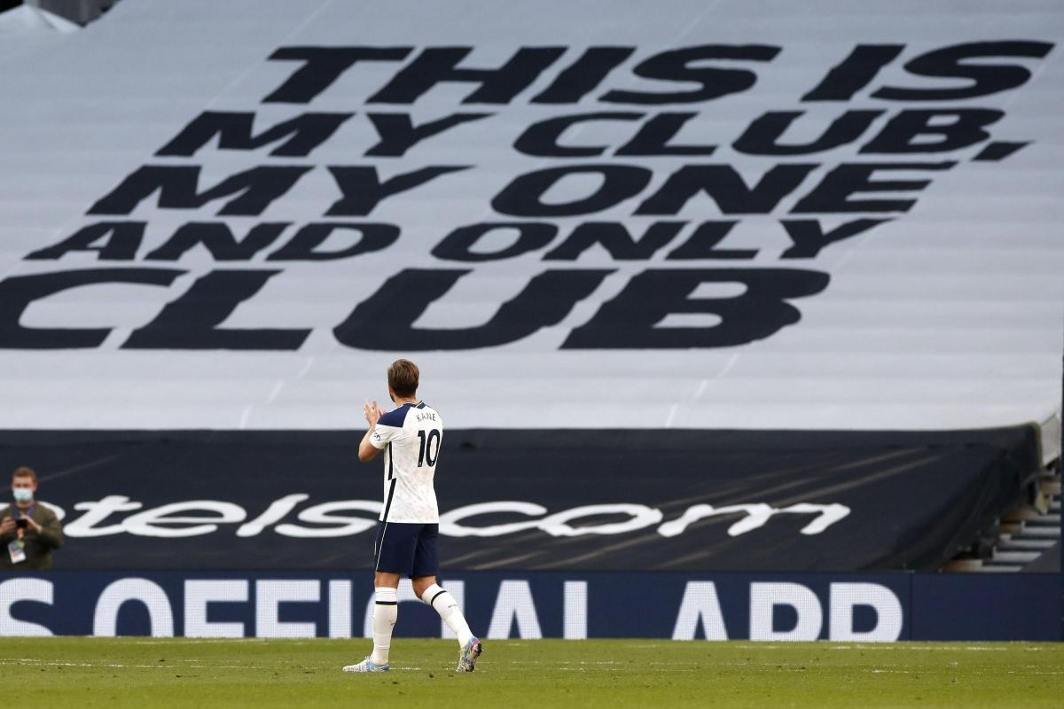 Harry Kane đã chơi trận cuối cùng trên sân nhà trong màu áo Tottenham?