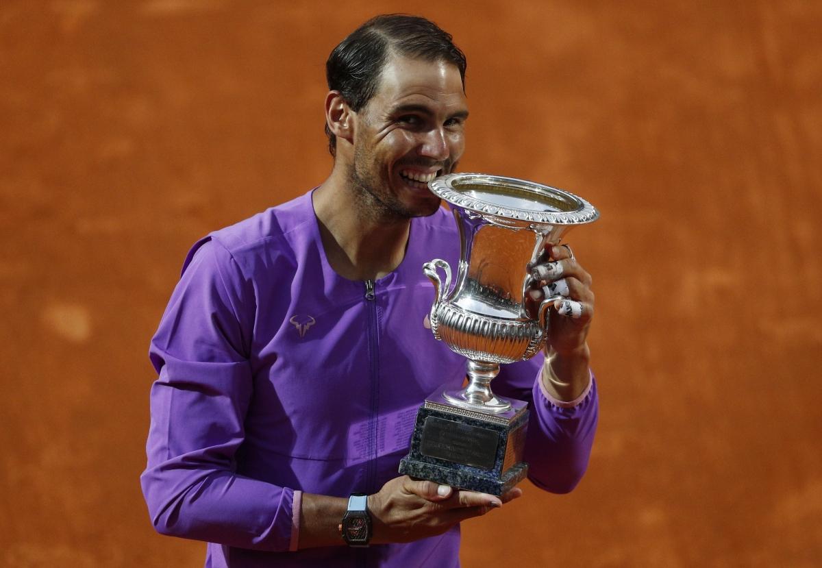 Danh hiệu ở Rome sẽ là tiền đề để Nadal tiếp tục sự thống trị tại Roland Garros, giải Grand Slam thứ 2 trong năm sẽ khởi tranh sau đây 2 tuần./.
