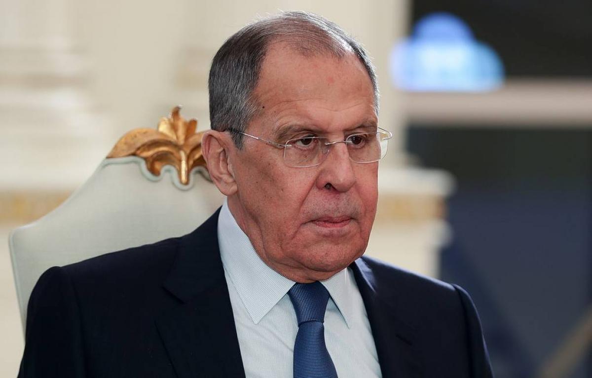 Bộ trưởng Ngoại giao Nga Sergei Lavrov (nguồn: Tass).