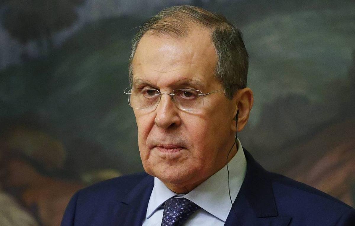 Ngoại trưởng Nga Sergey Lavrov. Ảnh: TASS.