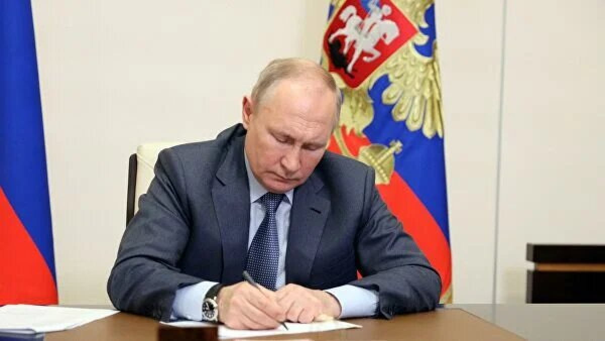 Tổng thống Nga V.Putin.(Nguồn: Rianovosti)