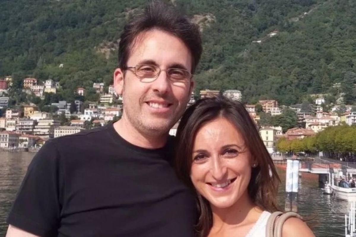 Di ảnh của một cặp đôi thiệt mạng trong vụ rơi cabin cáp treo. Ảnh: Republica.
