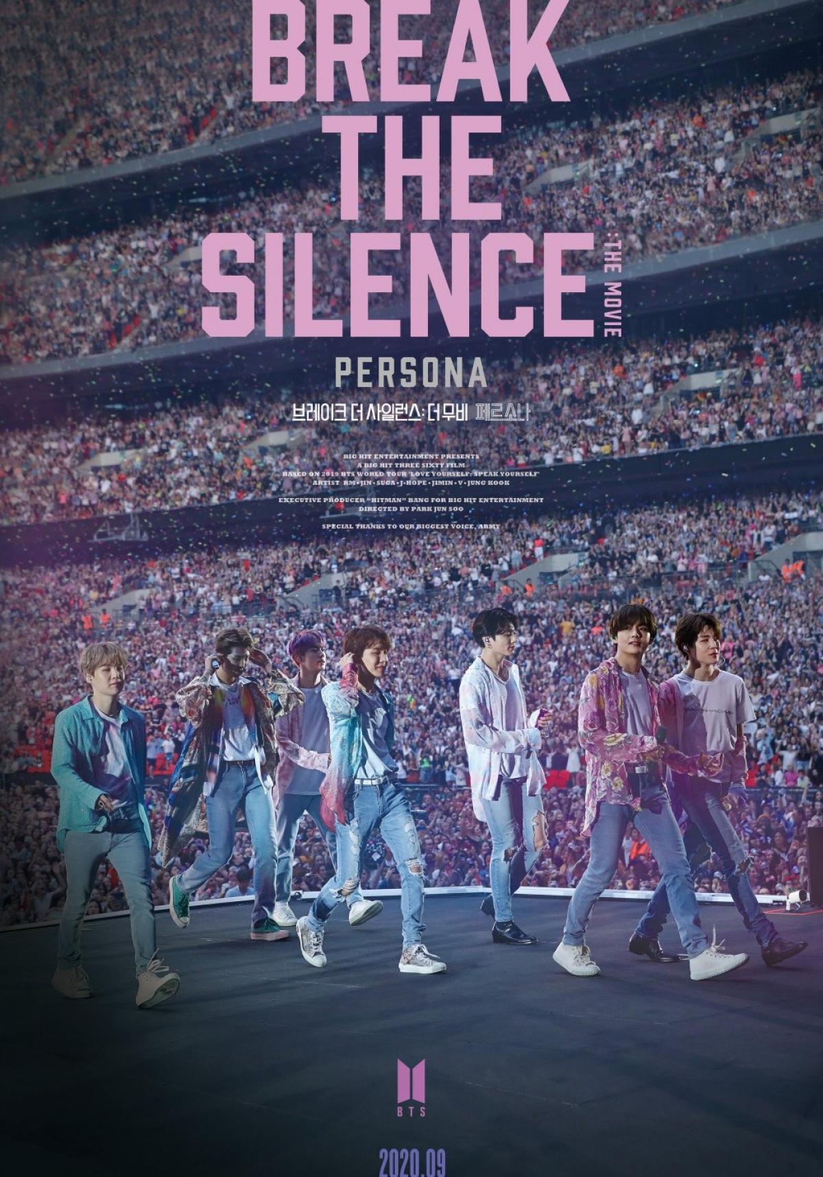 """Break the silence: The movie"" của BTS giành cúp tạilễ trao giảiMTV Movie & TV Awards."
