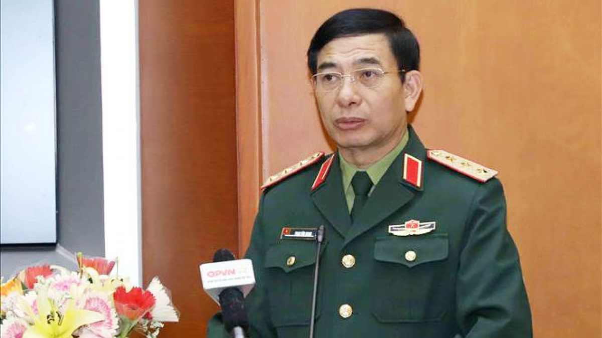 Thượng tướng Phan Văn Giang. Ảnh:TTXVN
