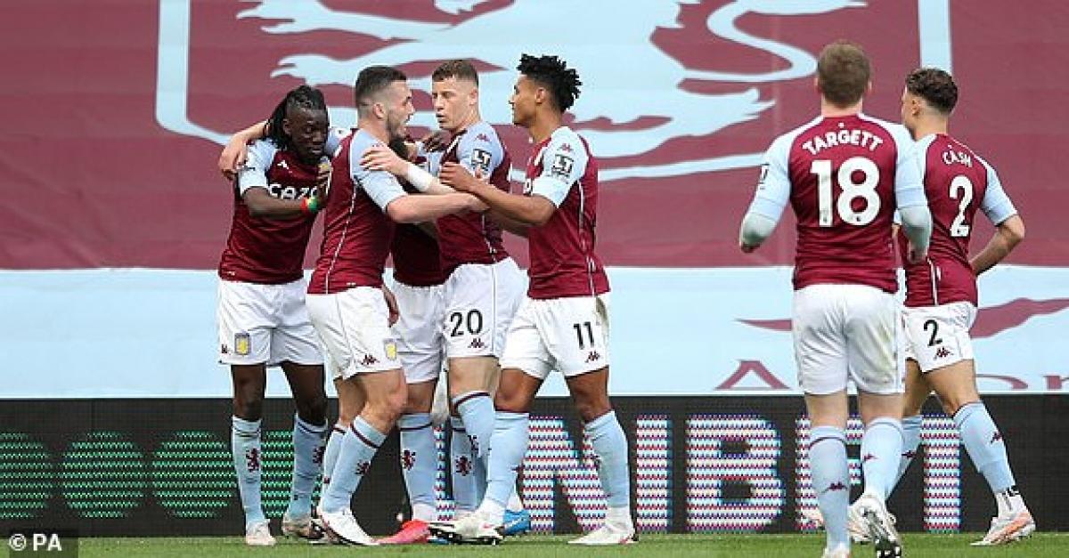 Aston Villa đang chơi chủ động. (Ảnh: PA).