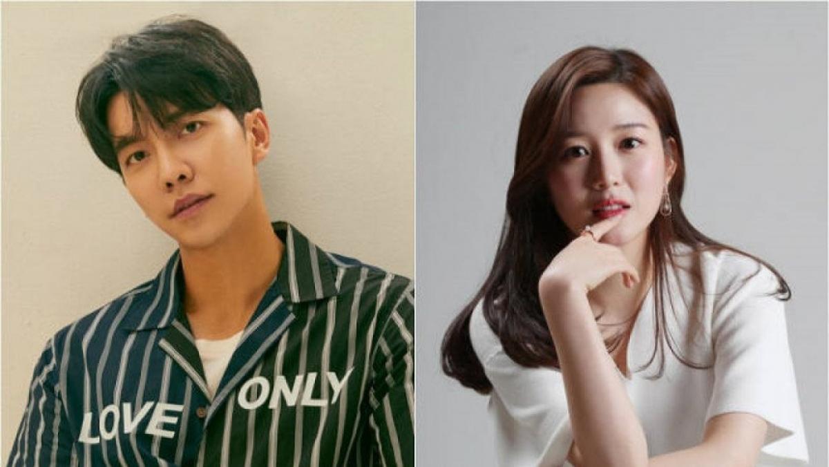 """Nam tài tử Lee Seung Gi hẹn hò với mỹ nhân """"Hwarang"""" Lee Da In."""