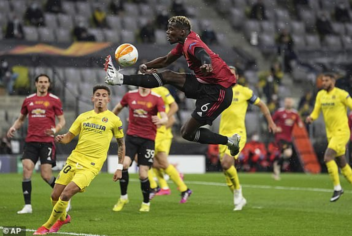 MU vẫn chơi áp đảo so với Villarreal. (Ảnh: AP).