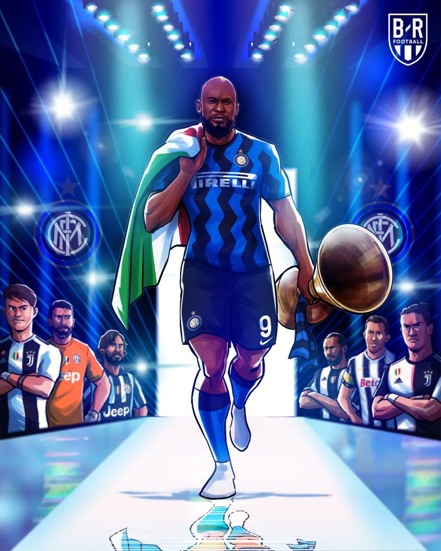 Inter Milan vô địch Serie A. (Ảnh: Bleacher Reports)
