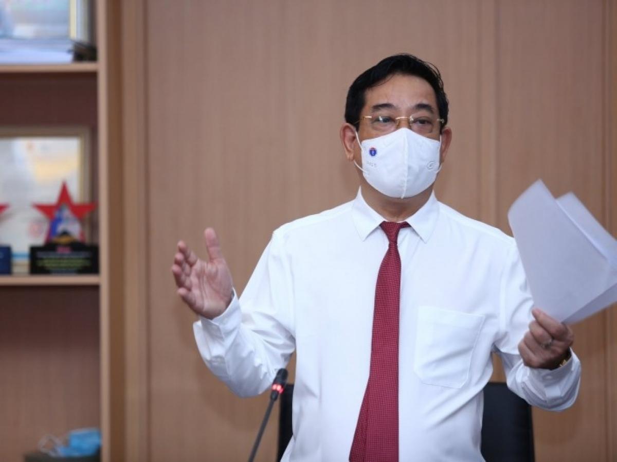 PGS.TS Lương Ngọc Khuê - Cục trưởng Cục Quản lý Khám, chữa bệnh, Bộ Y tế.