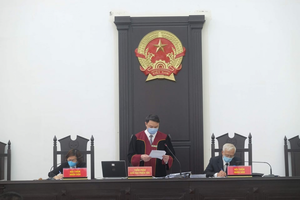HĐXX tại phiên tòa