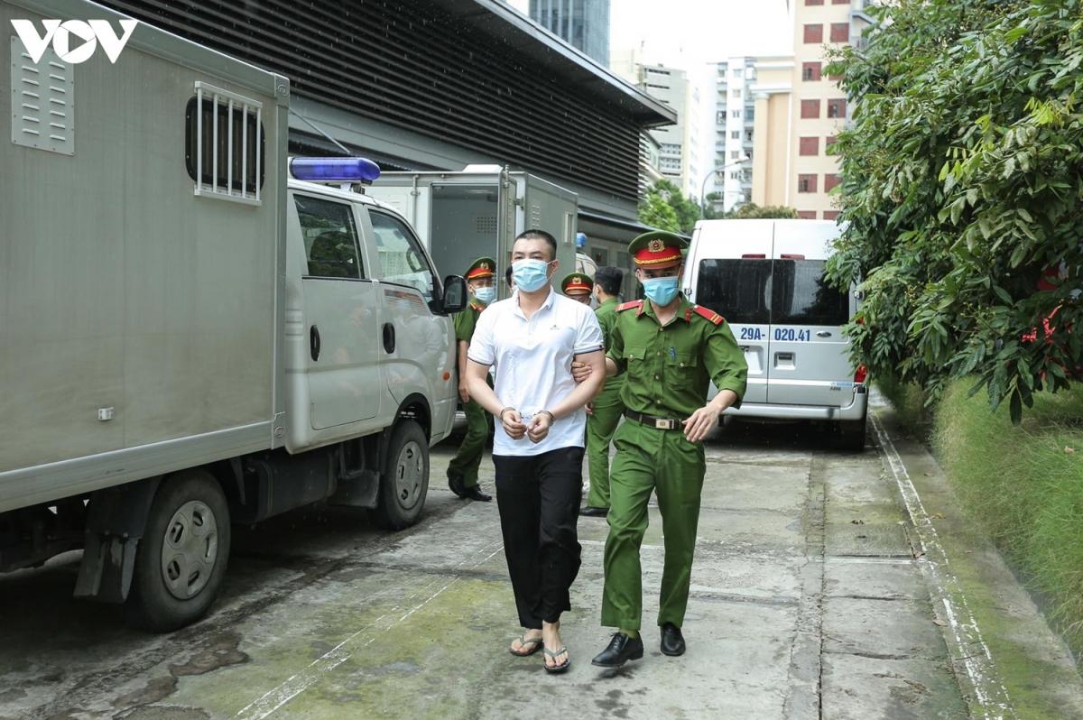 Ngoài bị can Bùi Quang Huy, còn tới 5 bị can khác vẫn đang bỏ trốn trong vụ án này, đó là Ngô Xuân Sử, Đỗ Văn Hùng, Đoàn Mạnh Phong, Cao Tuấn Hưng và Nguyễn Hoàng Sơn.