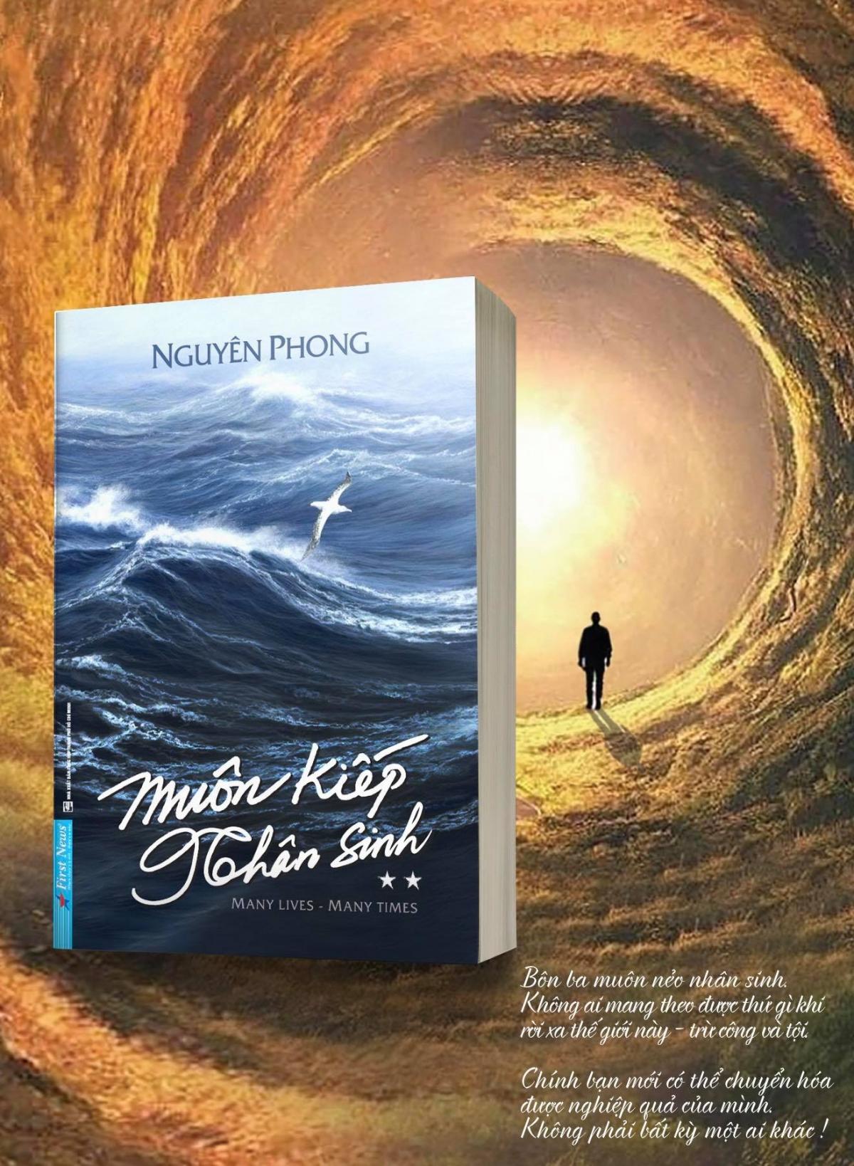 """Cuốn sách """"Muôn kiếp nhân sinh 2"""" chính thức được phát hành trên toàn quốc."""