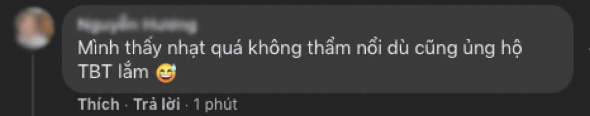 Một số bình luận của khán giả sau khi nghe ca khúc mới của Thiều Bảo Trâm.