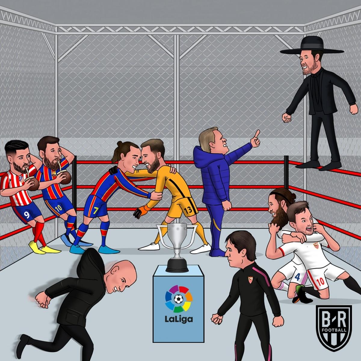 Ngày phán quyết ở La Liga. (Ảnh: Bleacher Reports)