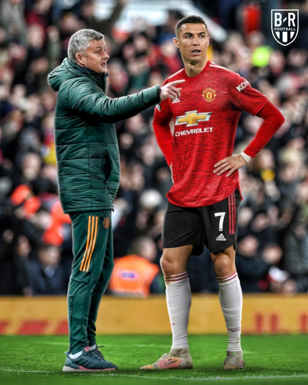 Cristiano Ronaldo sẽ trở lại MU? (Ảnh: Bleacher Reports)