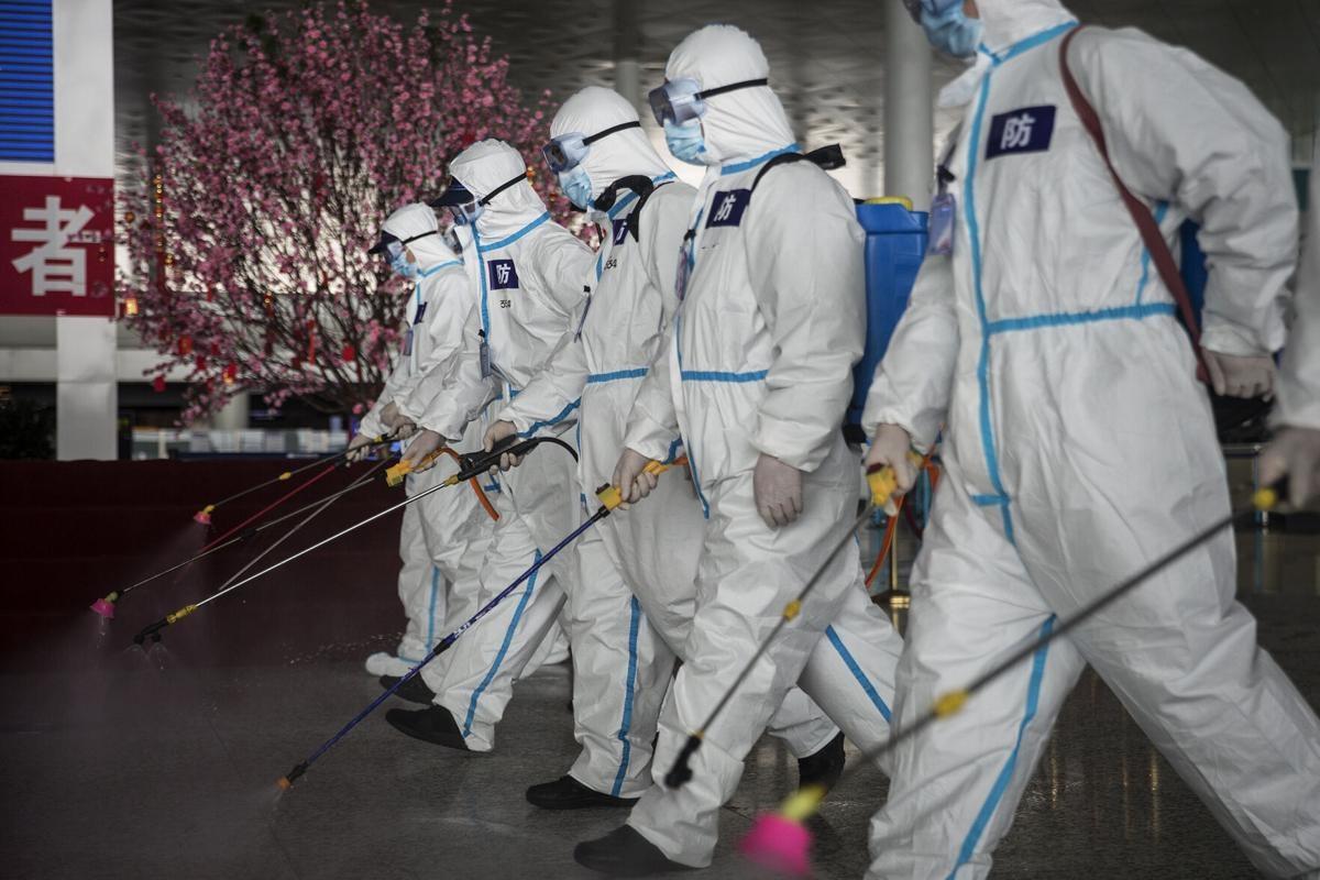 Trung Quốc nhiều lần khẳng định nguồn gốc của virus SARS-CoV-2 không phải ở bên trong lãnh thổ nước này. Ảnh: Getty Images
