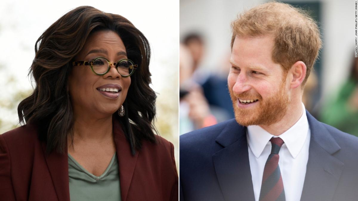 Oprah Winfrey và Hoàng tử Harry