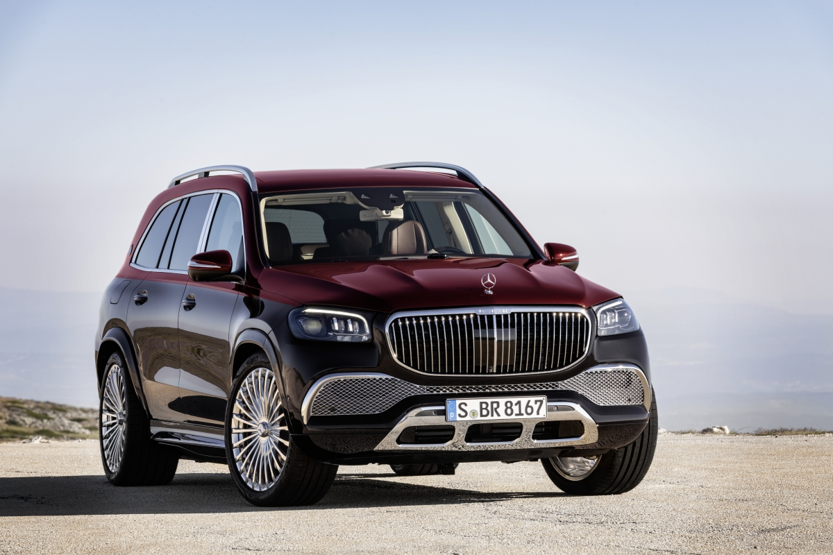 Mercedes-Maybach GLS 600 4MATIC chính hãng chào giá từ 12,5 tỷ đồng | VOV.VN