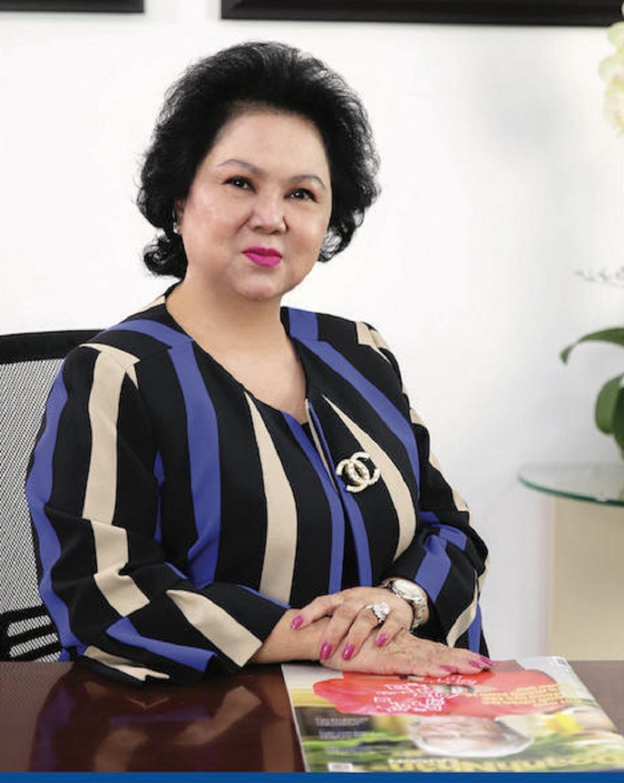 Bà Lý Kim Chi, Chủ tịch Hội Lương thực, thực phẩm TP.HCM.