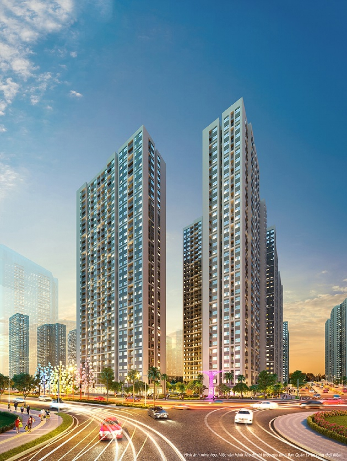 BĐS phía Tây liên tục thiết lập mặt bằng giá mới, đặc biệt tại các đại dự án sở hữu vị trí đắc địa và tiện ích đầy đủ, khép kín như Vinhomes Smart City.