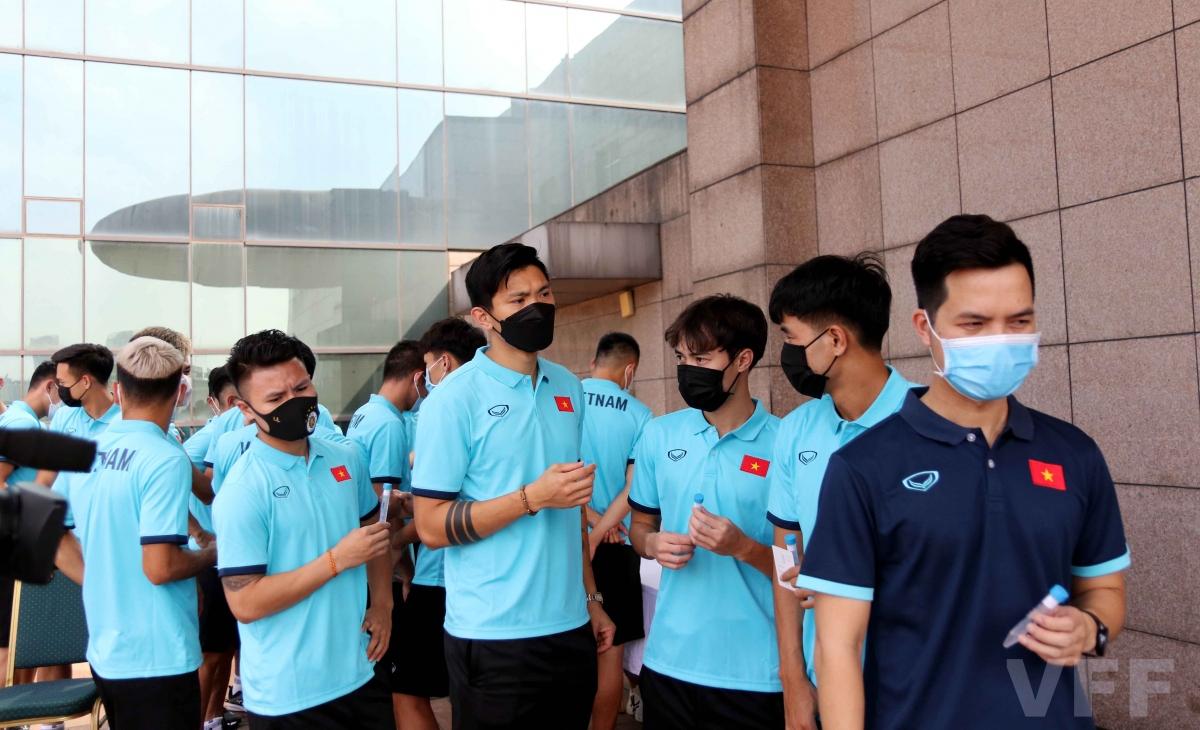 Hôm nay (7/5), ĐT Việt Nam đã chính thức hội quân trở lại để chuẩn bị cho 3 trận đấu còn lại trong khuôn khổ Vòng loại thứ hai World Cup 2022 khu vực châu Á.