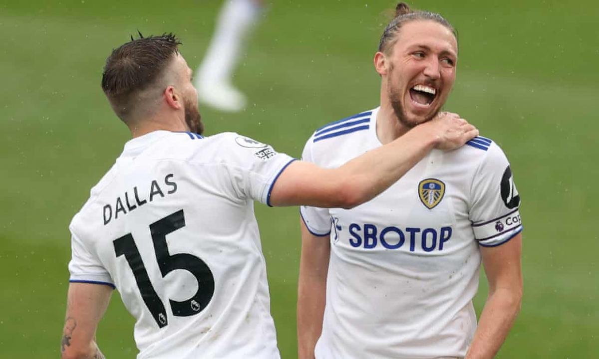 Leeds chỉ mất 13 phút để tìm thấy bàn mở tỷ số vào lưới Tottenham.