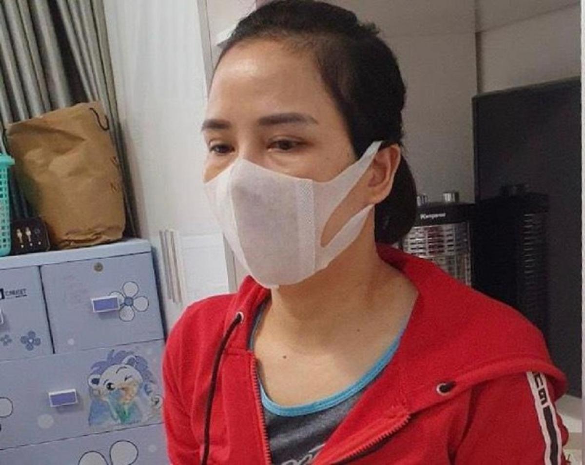 Phạm Thị Thái - một trong những đối tượng cầm đầu các sàn giao dịch trái phép bị triệt phá