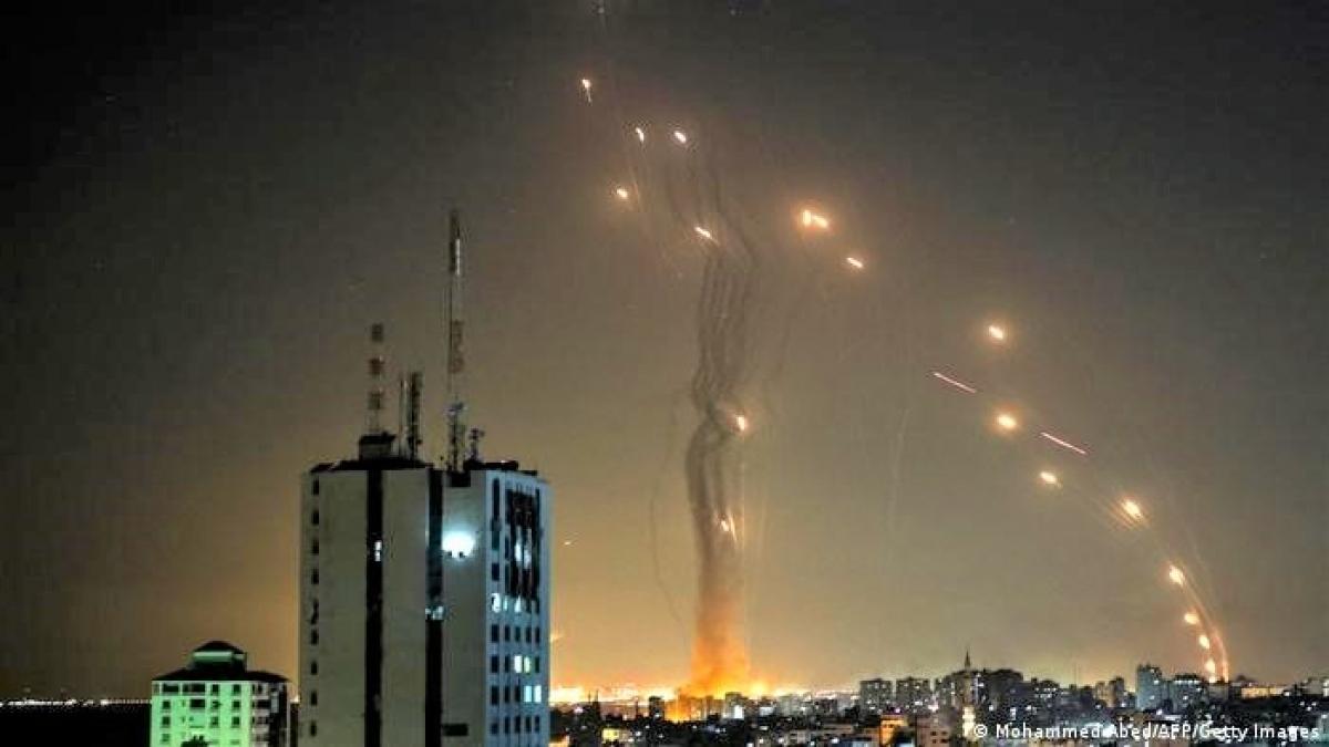 Xung đột Israel-Plastine mới đây đã làm bộc lộ các điểm yếu và khiếm khuyết của Vòm Sắt; Nguồn: dw.com