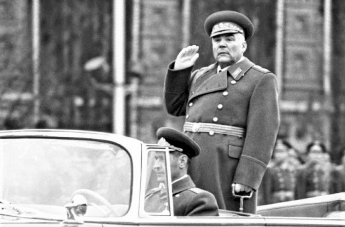 Nguyên soái Liên Xô Rodion Yakovlevich Malinovsky; Nguồn: ivanteevka.tv