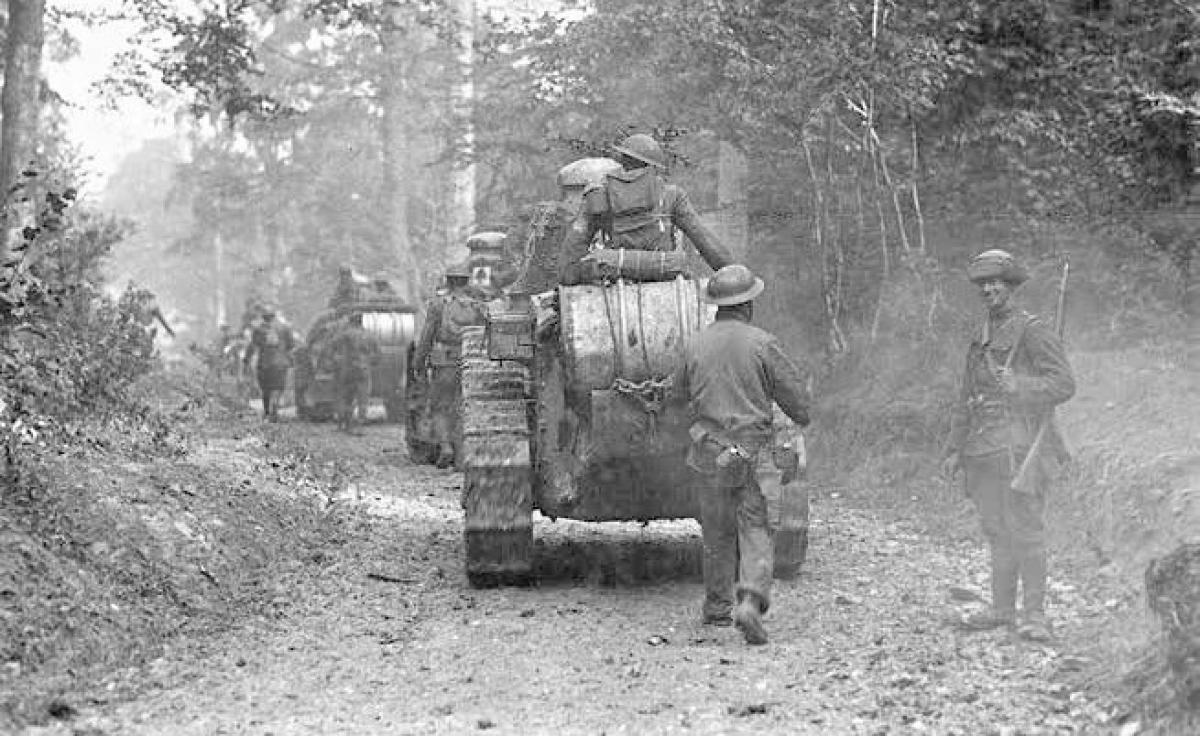 Trong trận Meuse-Argonne, khẩu đội của Truman nhận nhiệm vụ hỗ trợ hỏa lực để các đơn vị bộ binh và thiết giáp tham gia tấn công; Nguồn: wearethemighty.com
