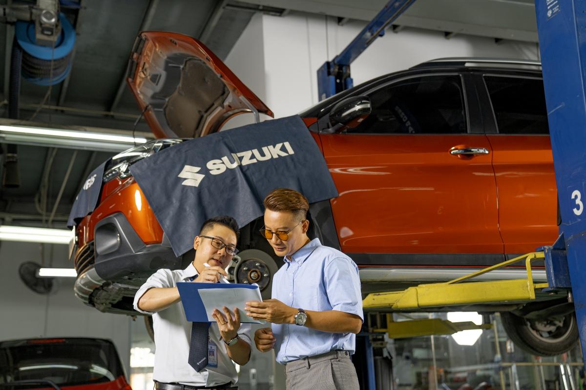 Suzuki tạo mọi điều kiện để khách hàng an tâm trong quá trình sử dụng xe và dịch vụ hậu mãi