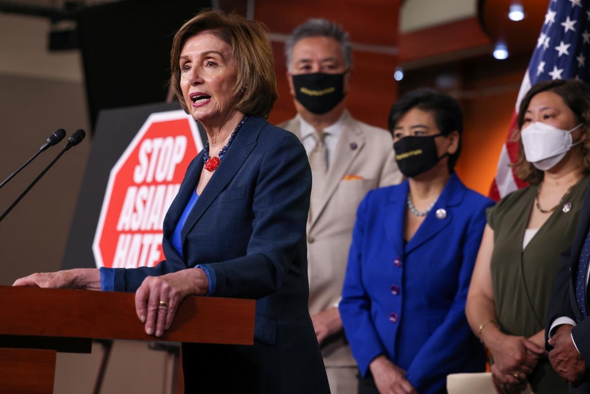 Đại diện Hạ viện Mỹ phát biểu tại Điện Capitol, ngày 18/5. Nguồn: Reuters