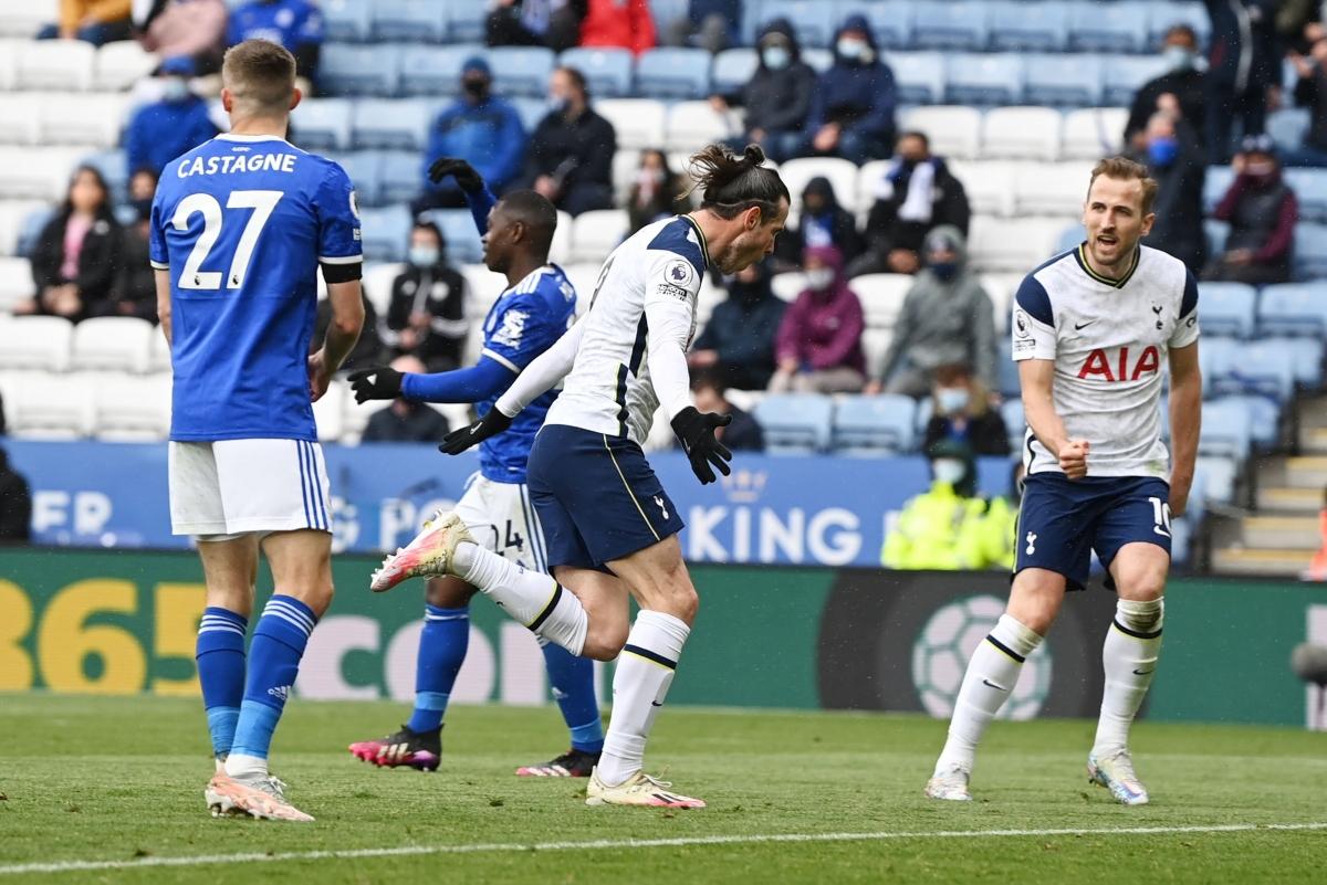 Tottenham lội ngược dòng trước Leicester. (Ảnh: Reuters)