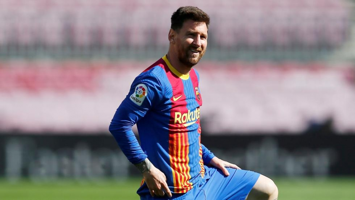 Sự tiếc nuối của Messi. (Ảnh: Getty)