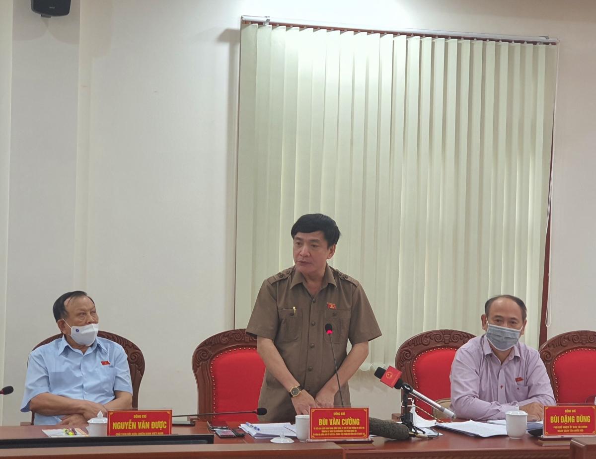 Ông Bùi Văn Cường - Tổng Thư ký Quốc hội, Chủ nhiệm Văn phòng Quốc hội, Chánh Văn phòng Hội đồng bầu cử quốc gia