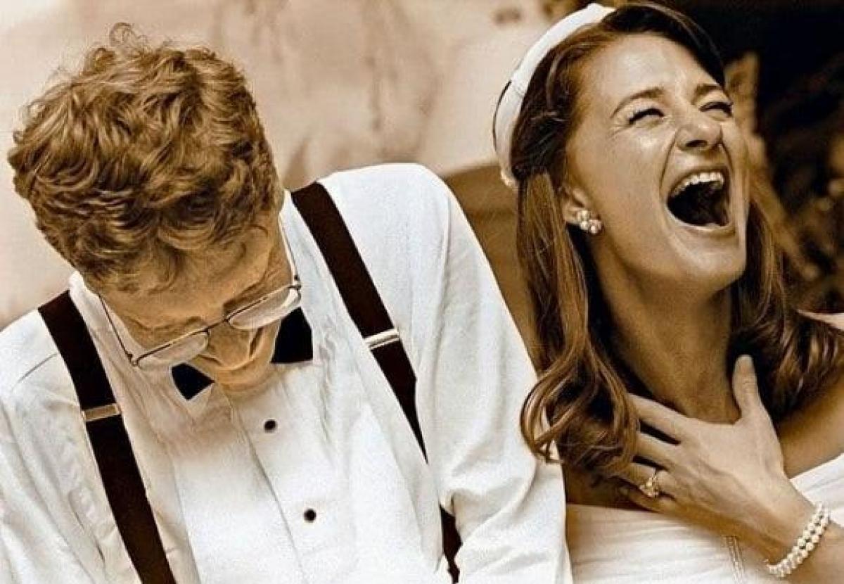 Đám cưới của vợ chồng tỷ phú Bill Gates.