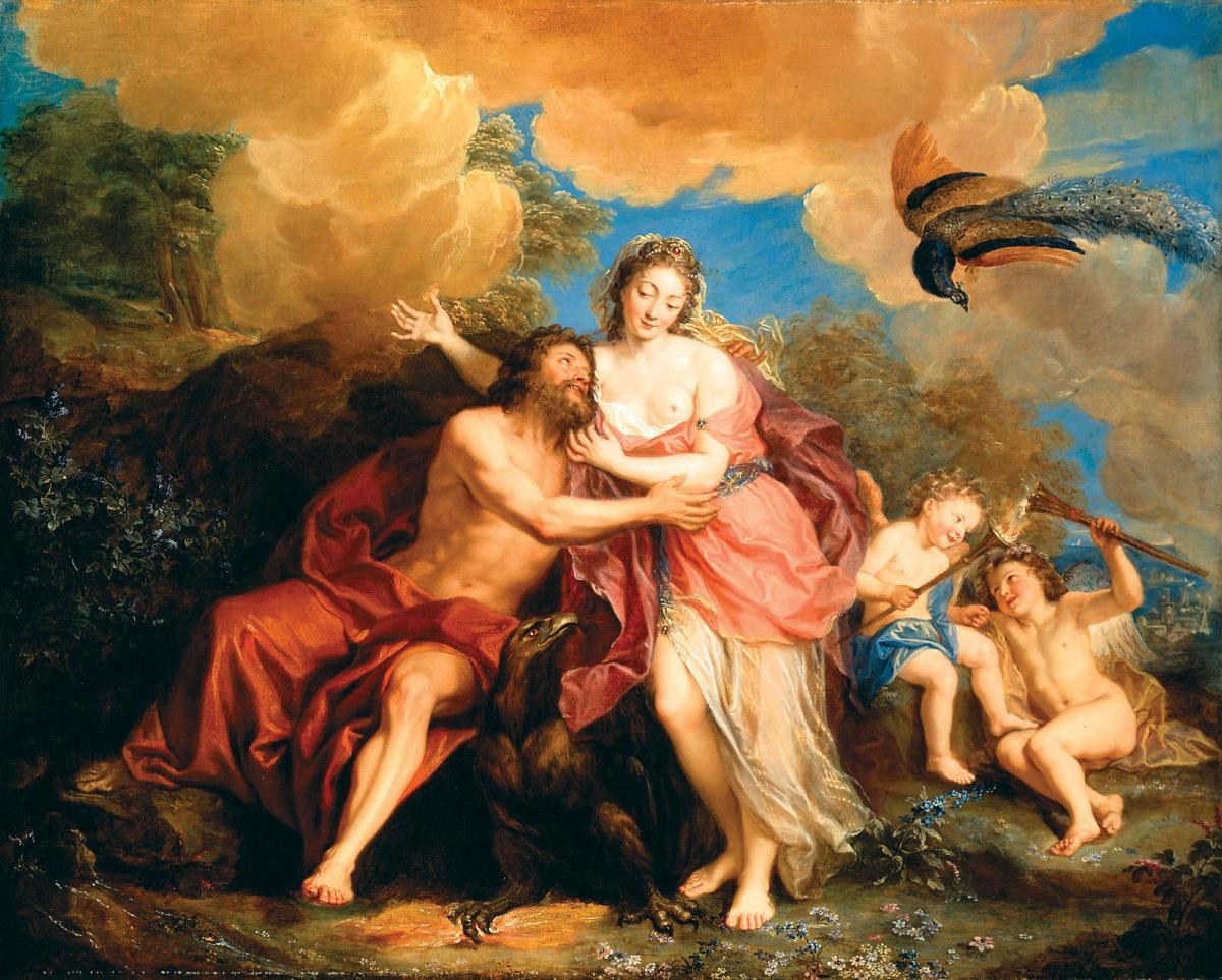 Người La Mã cổ đại có truyền thống cúng tế cho thần Rhea - mẹ của các vị thần