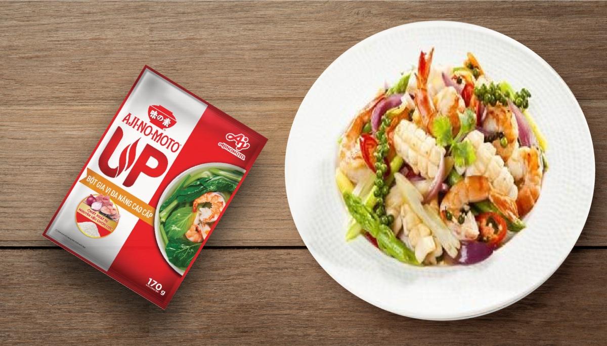 Sản phẩm có thể kết hợp với các gia vị cơ bản khác, mang đến vị ngon hài hòa cho mọi món ăn.