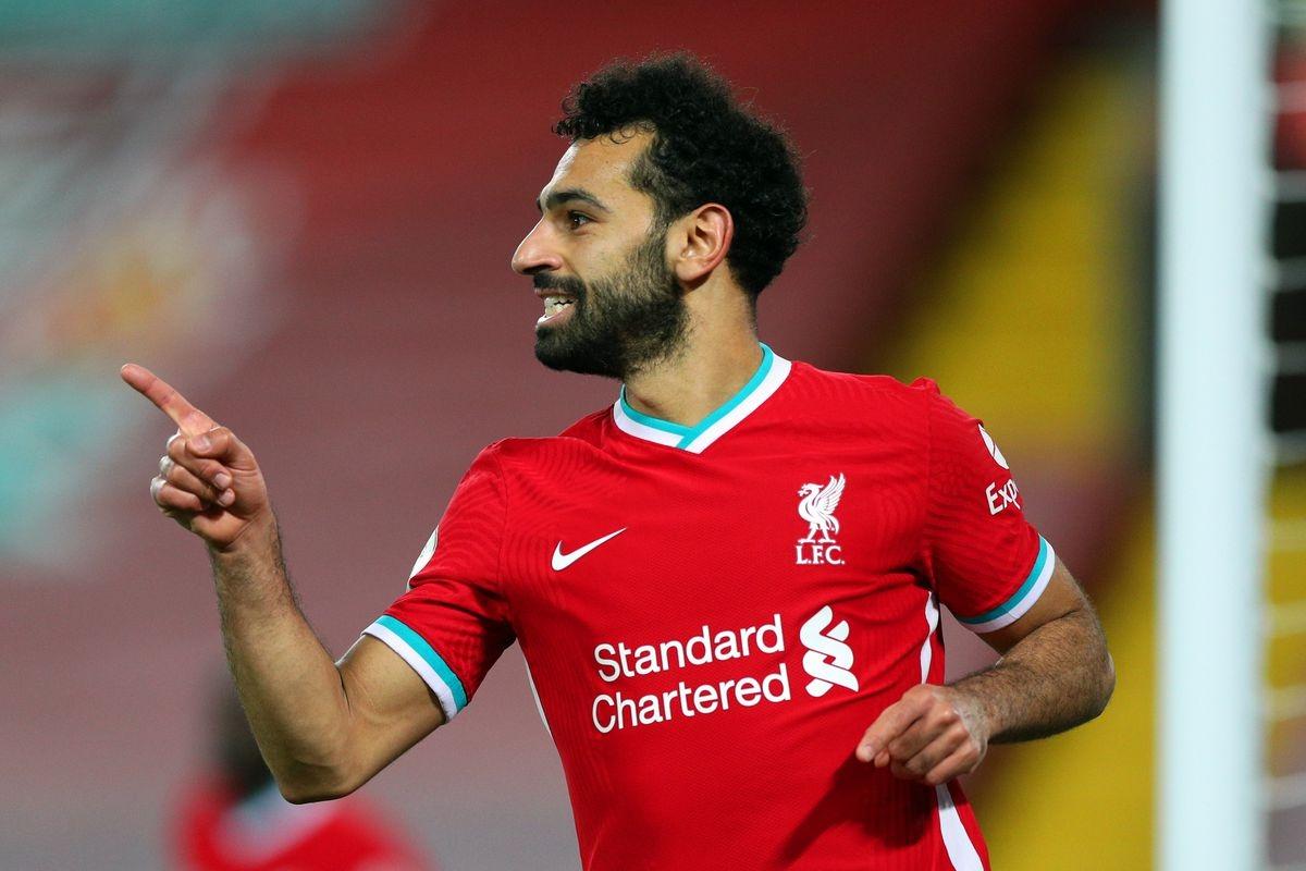 Đồng hạng 1. Mohamed Salah (Liverpool) - 22 bàn