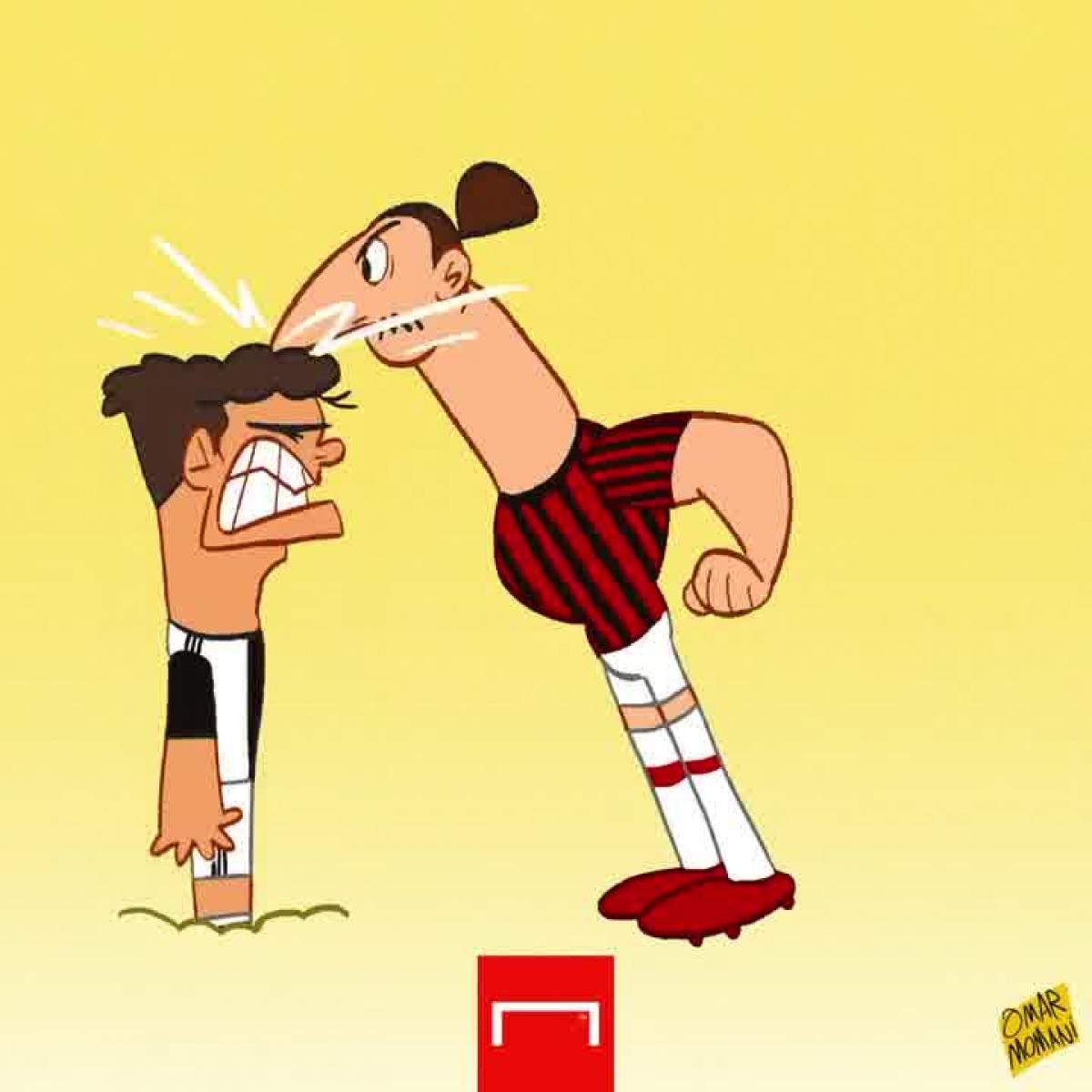 Juventus nhận thất bại 0-3 trước AC Milan nên bị bật khỏi tốp 4.