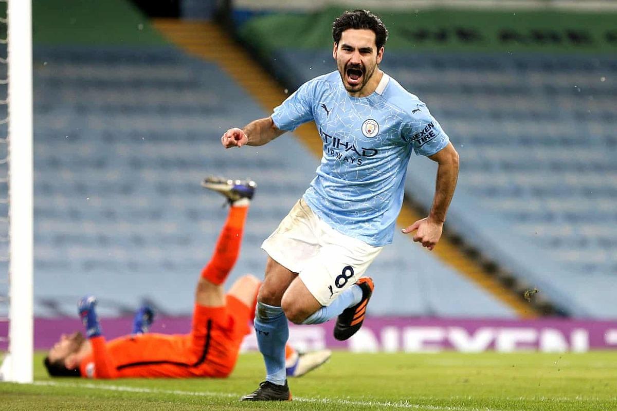 Đồng hạng 8. Ilkay Gündogan (Man City) - 13 bàn