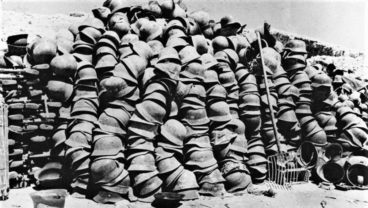 """""""Di sản chiến tranh"""". Ảnh chụp năm 1944."""