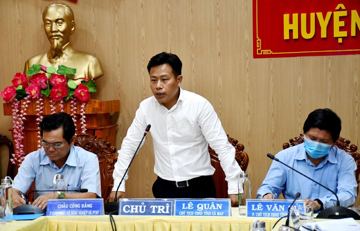Theo ông Lê Quân, Chủ tịch UBND tỉnh Cà Mau, việc thí điểm mô hình liên kết sẽ hướng tới tái cấu trúc lại sản xuất nông nghiệp của tỉnh.