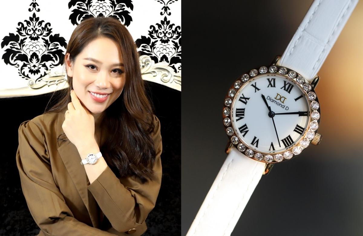 Thương hiệu đồng hồ hoàng gia Diamond D dành riêng cho phái đẹp.