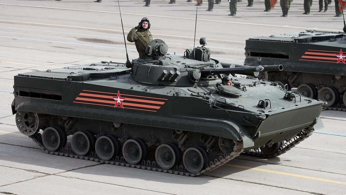 Xe đổ bộ đường không BMD-4M.